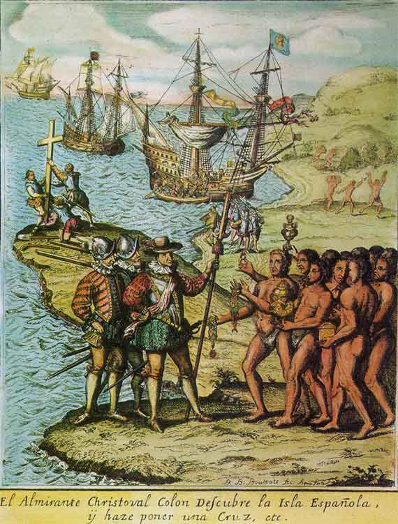 a history of christopher columbus and the spanish empire